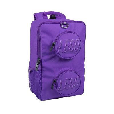 "LEGO Brick 16"" Backpack - Purple"