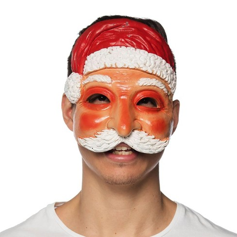 HMS Supersoft Santa Claus Adult Costume Mask - image 1 of 1