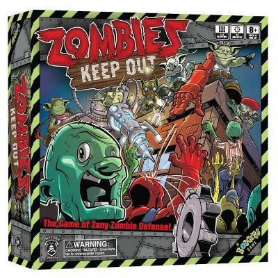 Zombies - Keep Out Board Game