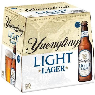 Yuengling Light Lager Beer - 12pk/12 fl oz Bottles