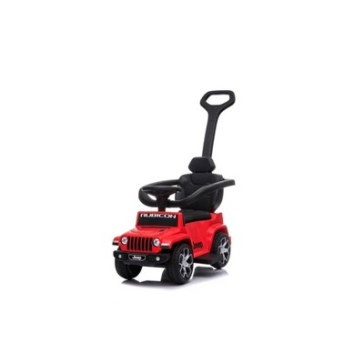 Best Ride on Cars Jeep Rubicon 3 in 1 Push Car Ride-On - Red