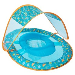 Swimways Sea Life Baby Spring Float Canopy - Teal