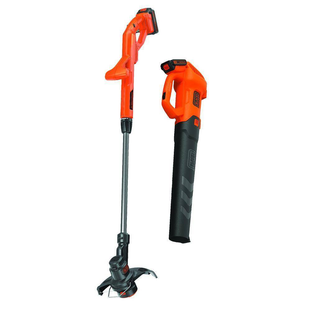Image of BLACK+DECKER 20V MAX Blower & Cordless String Combo