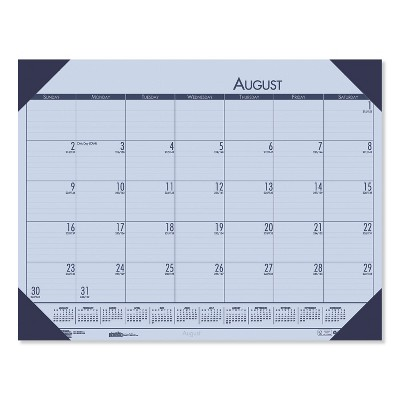 House of Doolittle Recycled EcoTones Academic Desk Calendar 18.5 x 13  2020-2021 012573