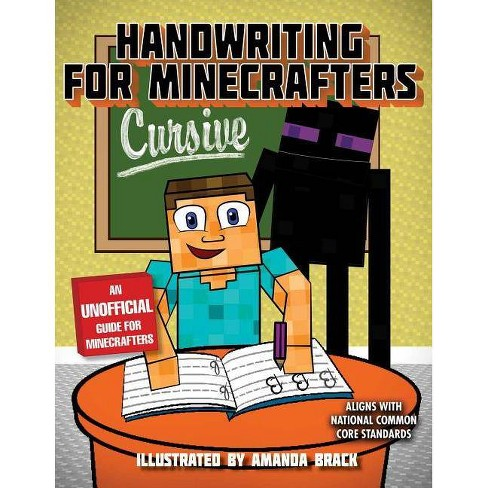 Handwriting for Minecrafters: Cursive - (Paperback) - image 1 of 1