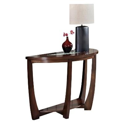 Rafael Sofa Table Merlot - Steve Silver