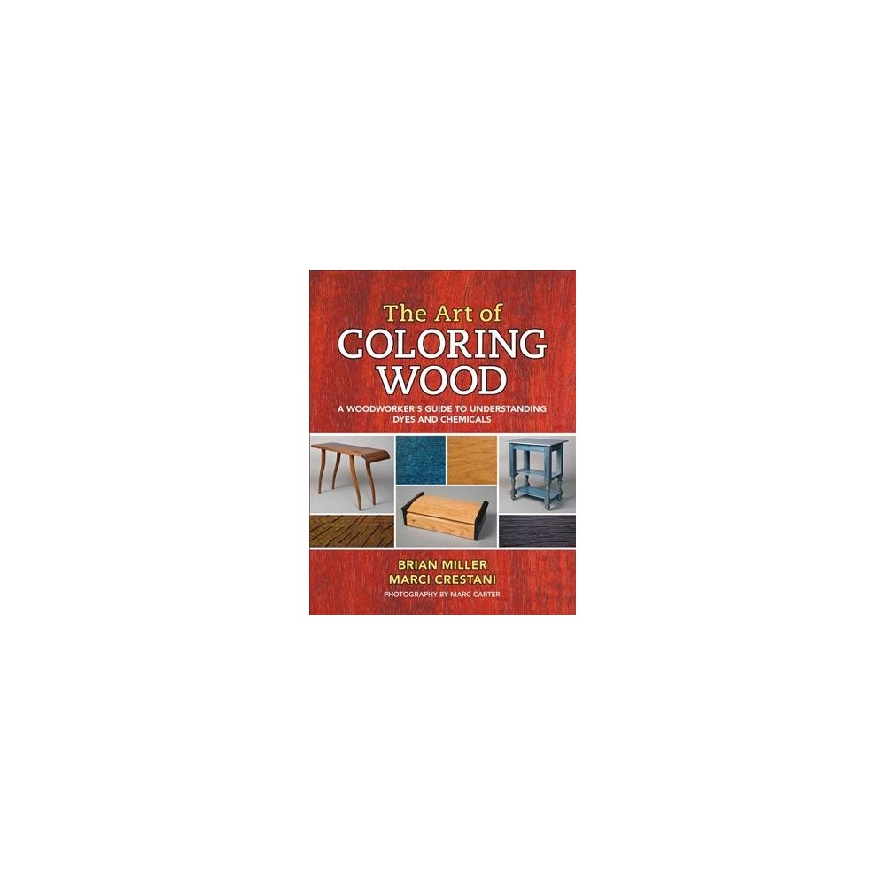 Art of Coloring Wood : A Woodworker's Guide to Understanding Dyes and Chemicals - (Paperback)