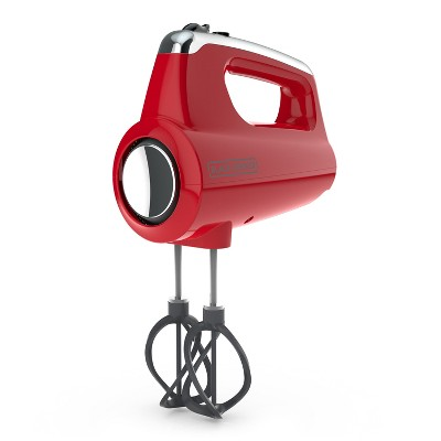 BLACK+DECKER Helix Hand Mixer - Red MX600R