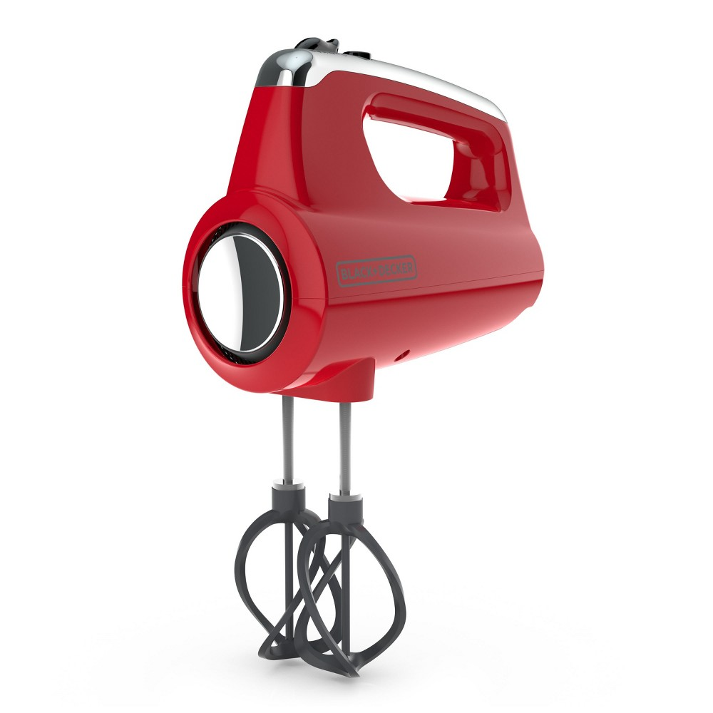 Image of BLACK+DECKER Helix Hand Mixer - Red MX600R