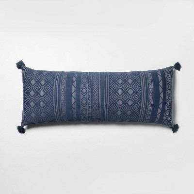 Oversized Oblong Pillow Navy - Hearth & Hand™ with Magnolia