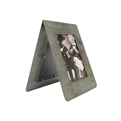 """3"""" x 5"""" Galvanized 2-Sided Standing Picture Single Frame - 3R Studios"""