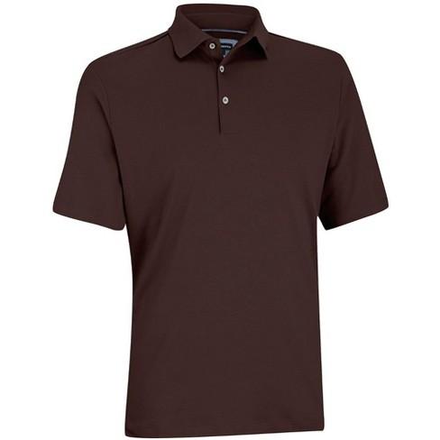 64a5137282e Men's Ashworth Primatec Cotton Interlock Solid Shirt : Target