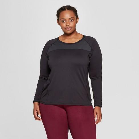 903cd3cce1b3e Women s Plus Size Long Sleeve Run T-Shirt - C9...   Target