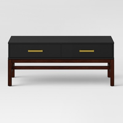 Guthrie Two Tone Coffee Table Matte Black - Project 62™