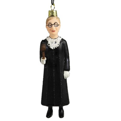 """Holiday Ornament 5.25"""" Standing Rgb Ruth Bader Ginsburg Icon Law  -  Tree Ornaments"""