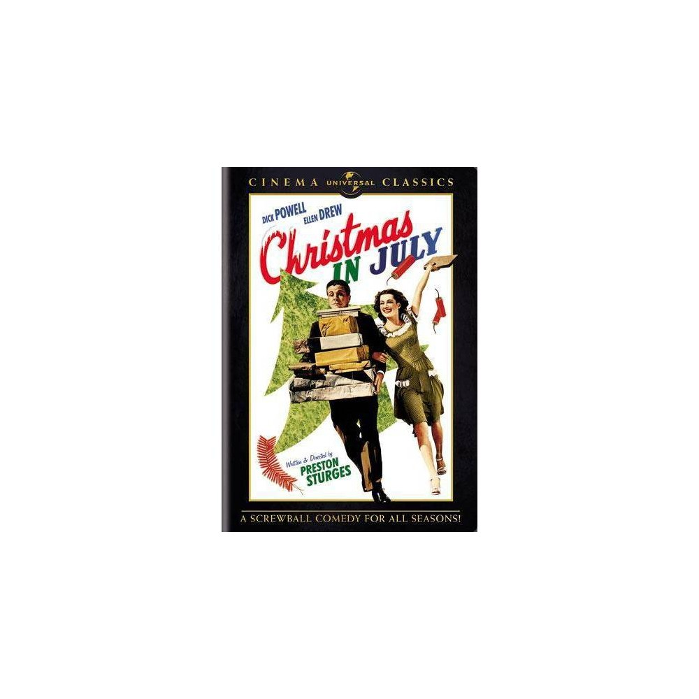 Christmas In July Dvd