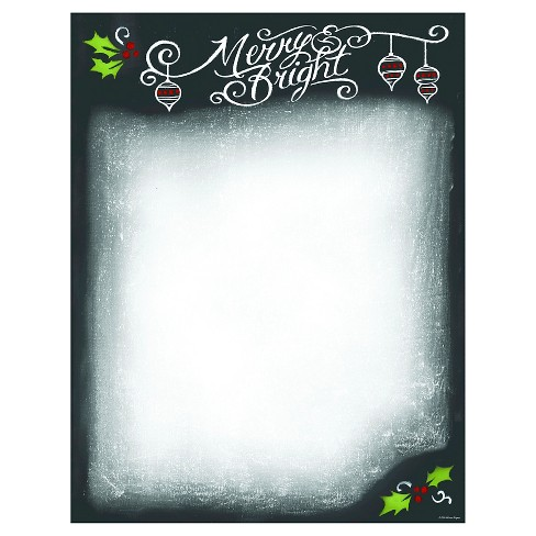 80ct Merry & Bright Holiday Stationery - image 1 of 1