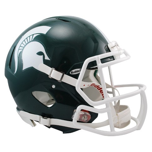 Michigan State Spartans Riddell Speed Authentic Helmet - Green - image 1 of 1