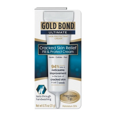 Gold Bond Ultimate Cracked Skin Relief Fill and Protect Cream - 0.75oz
