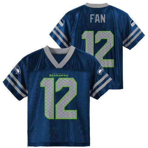 newest 40b42 69d8a NFL Seattle Seahawks Toddler Boys' Fan 12 Jersey