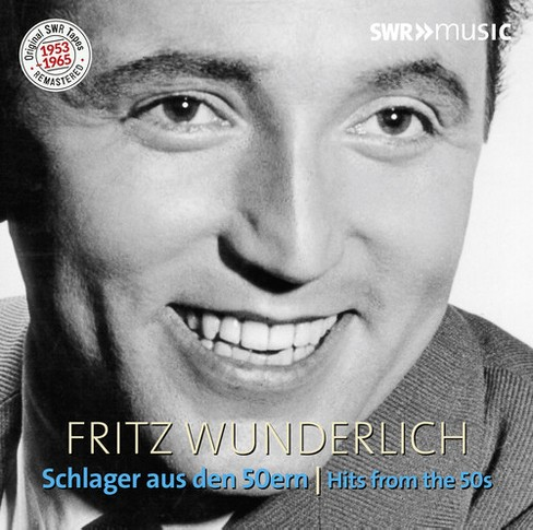 Fritz Wunderlich - Fritz Wunderlich:Hits From The 50s (CD) - image 1 of 1