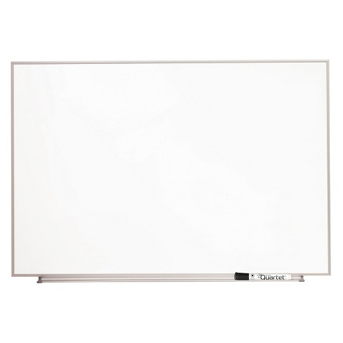Quartet® Magnetic Dry Erase Board, Painted Steel, 23 x 16, White ...