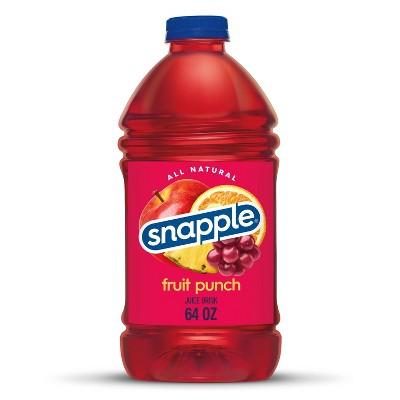 Snapple Fruit Punch Tea - 64 fl oz Bottle