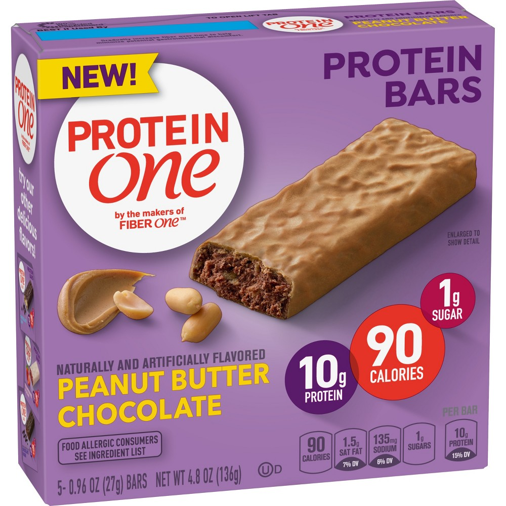 Protein One Peanut Butter Chocolate Protein Bar - 5ct