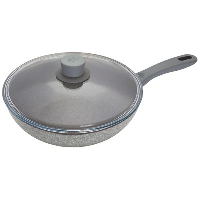 Ballarini Parma Plus 11-inch Aluminum Nonstick Stir Fry Pan with Lid