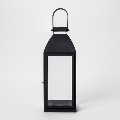 Lantern Candle Holder Small - Black - Smith & Hawken™
