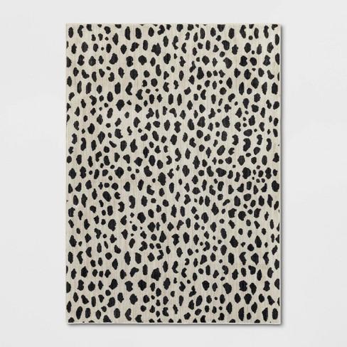 Leopard Spot Woven Rug Opalhouse