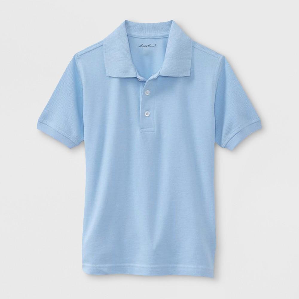 Eddie Bauer Boys' Uniform Polo Shirt - Light Blue 4