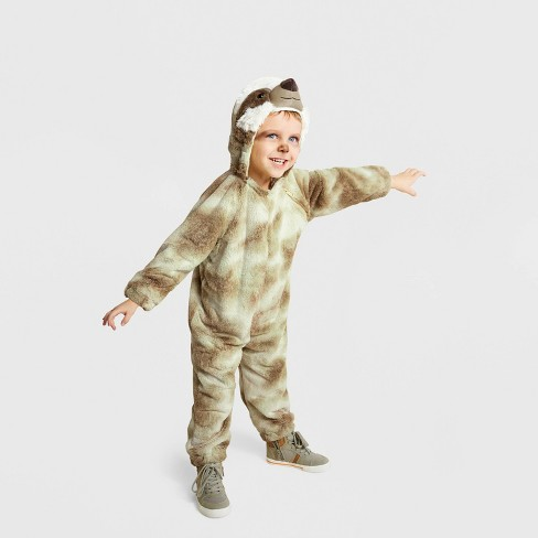 Toddler Plush Sloth Halloween Costume - Hyde & EEK! Boutique™ - image 1 of 1