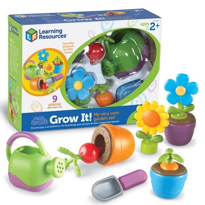 Learning Resources - New Sprouts Grow It! Play Set, Ages 2+