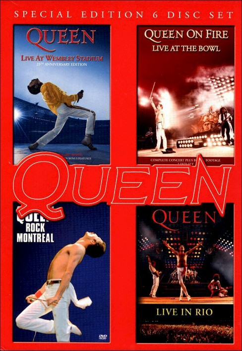 Live at wembley/Rock montreal/Live in (DVD) - image 1 of 1