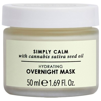 Botanics Simply Calm Hydrating Overnight Mask for Stressed Skin - 1.69 fl oz