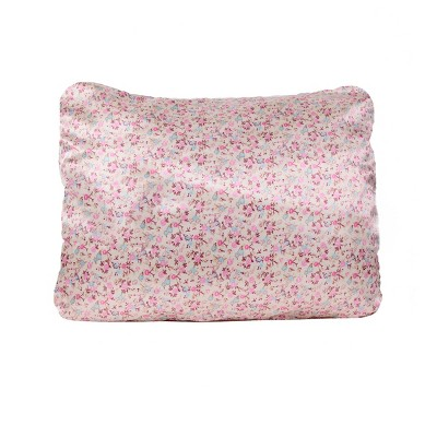 Standard 600 Thread Count 1pc Satin Printed Pillowcase - Morning Glamour