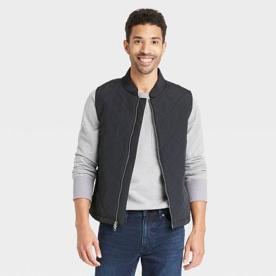 Men's Lightweight Quilted Puffer Vest - Goodfellow & Co™ Black