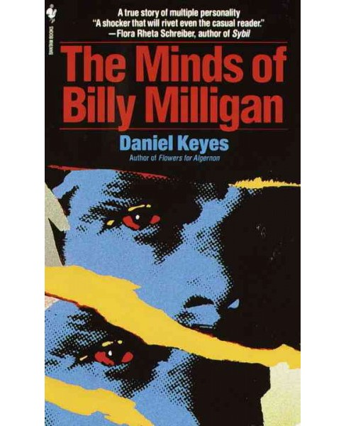 Minds of Billy Milligan -  Reprint by Daniel Keyes (Paperback) - image 1 of 1