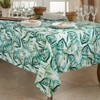 Polyester Tropical Rainforest Tablecloth Green - Saro Lifestyle - image 4 of 4