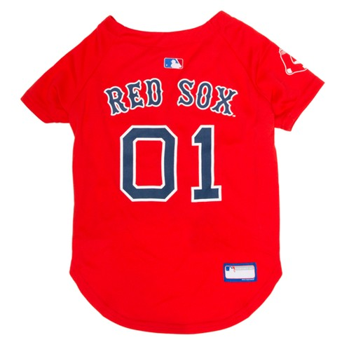 new product fc43f 67c41 MLB Pets First Pet Baseball Jersey - Boston Red Sox