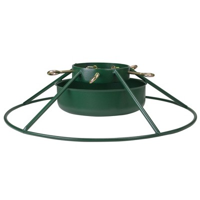 """Northlight 25"""" Green Christmas Tree Stand for Real Live Trees Up to 12"""" Tall"""