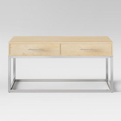 Maison Coffee Table Chrome Wood - Project 62™
