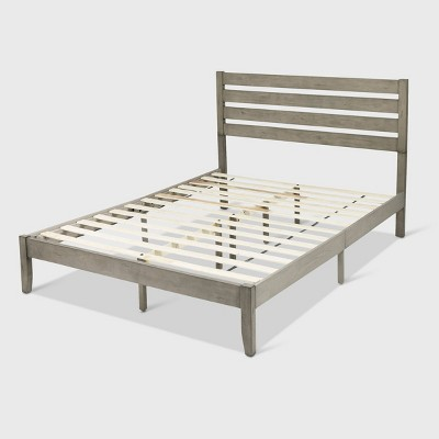 Queen Guilford Contemporary Bed Gray - Christopher Knight Home