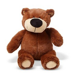 Melissa & Doug BonBon Bear - Teddy Bear Stuffed Animal (15 inches tall)