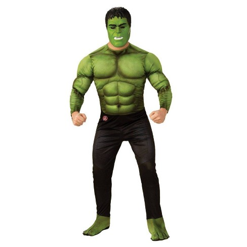 Adult Avengers Hulk Deluxe Halloween Costume - image 1 of 1