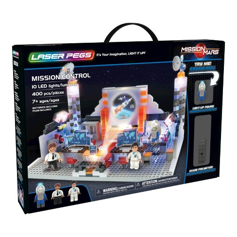 Laser Pegs  Mission Control Toy Vehicle Tracks - image 1 of 8