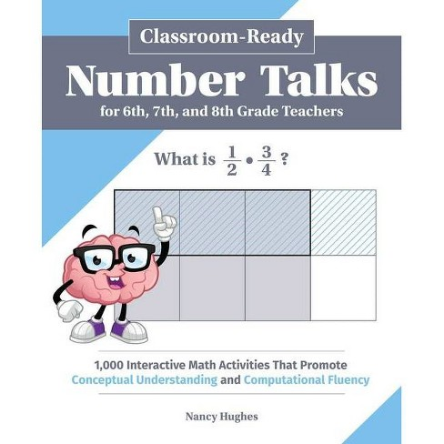 Classroom-Ready Number Talks for Sixth, Seventh, and Eighth Grade Teachers - (Books for Teachers) - image 1 of 1