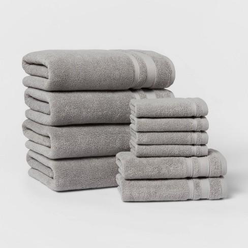 10pk Performance Classic Towel Set - Threshold™ - image 1 of 4