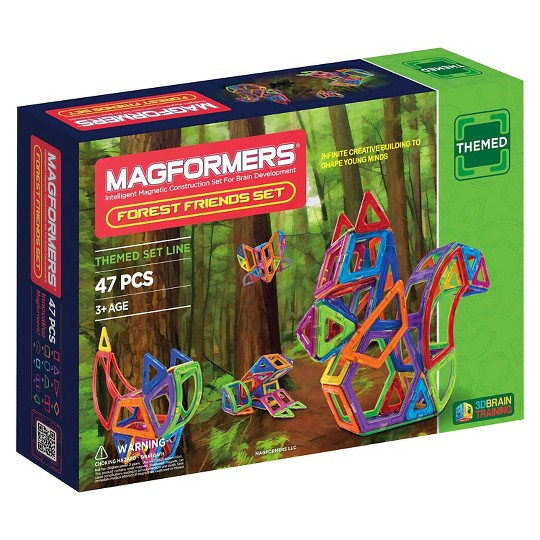 Magformers Forest Friends Magnetic Toy Building Set image number null